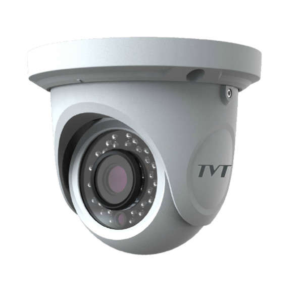 DOME D/N WP HD-TVI/AHD/CVI/CVBS, 1080P, 2.8MM, TRUE WDR, 12V, IR20M