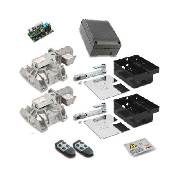 KIT 2XHL 251 230VAC ENTERRES+ PRG 811+S449 RX2/S FM+2 TX4 +PANEAU SIGN.