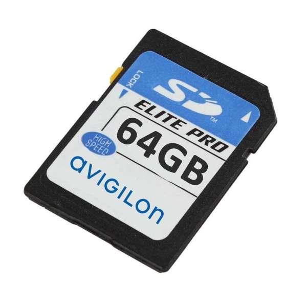 CARTE SD 64GB UHS POUR CAMERA BULLET, DOME, CAMERA H4PRO-B