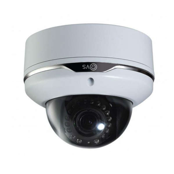 CAMERA DOME EXT +IR 15M, 3/10MM, POE, 2MP, ONVIF, ANTIVANDALE