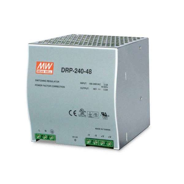 ALIM POUR SWITCH INDUSTRIEL IPPLA4XX , RAIL DIN, 48V , 240W