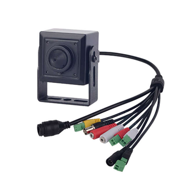CAMERA D/N MINI,2MP/25IPS,3.7MM PINHOLE,SWDR,LOWLIGHT,3DNR,SD,DC12V,AL