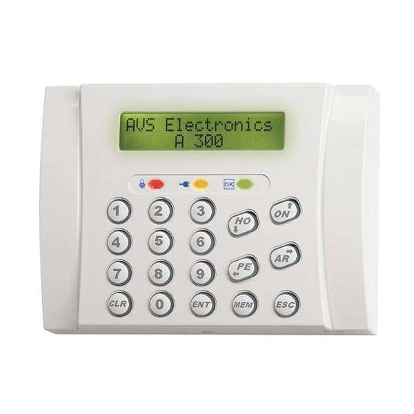 CLAVIER LCD BLANC (2X16 DIGITS), ENCASTREMENT AVEC BT503, 3 LED
