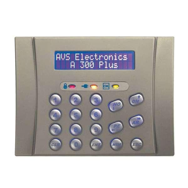 CLAVIER LCD SILVER (2X16 DIGITS), ENCASTREMENT AVEC BT503, 3 LED