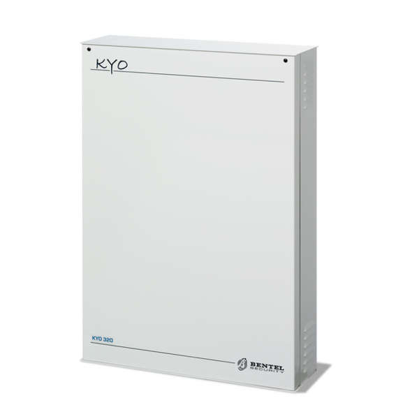 KYO 8-200 ZONES +64WL, 6-86 OUT, 32 GRP,BOX METAL,TR. DIG,RS-232,PSU 3A
