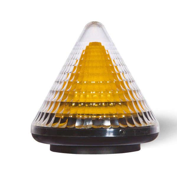 LAMPE CLIGNOTANTE A LED LACO AVEC ANTENNE, 24VDC - 230VAC