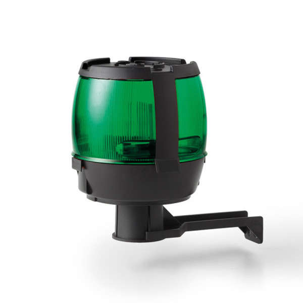 AVERTISSEUR LUMINEUX (VERT) A LAMPE 220V NON CLIGNOTANTE