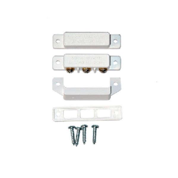 CONTACT MAGNETIQUE APPARENT, BLANC, 4K7-4K7, 2 BORNIERS (MIN. 10PCS)