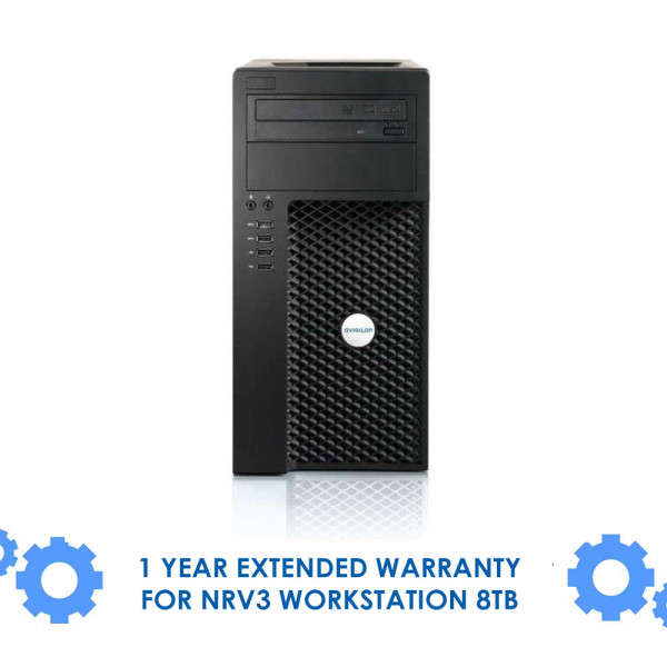 1 YEAR EXTENDED WARRANTY FOR NRV3 WORKSTATION  8TB