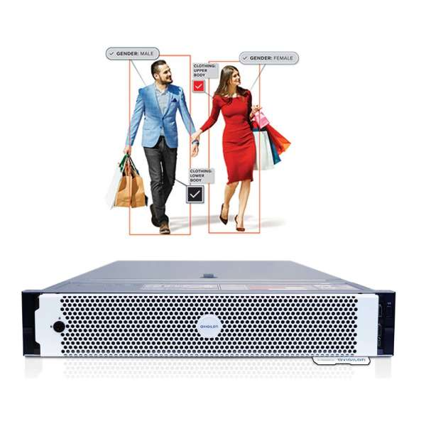 AI APPLIANCE VIDEO ANALYTICS SERVER MODEL A10, 30 × 2MP, 2U RACK