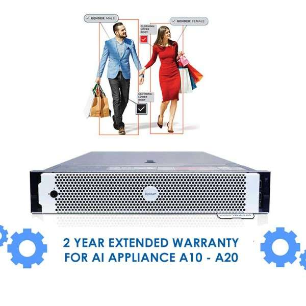2 YEAR EXTENDED WARRANTY FOR AI APPLIANCE A10 - A20