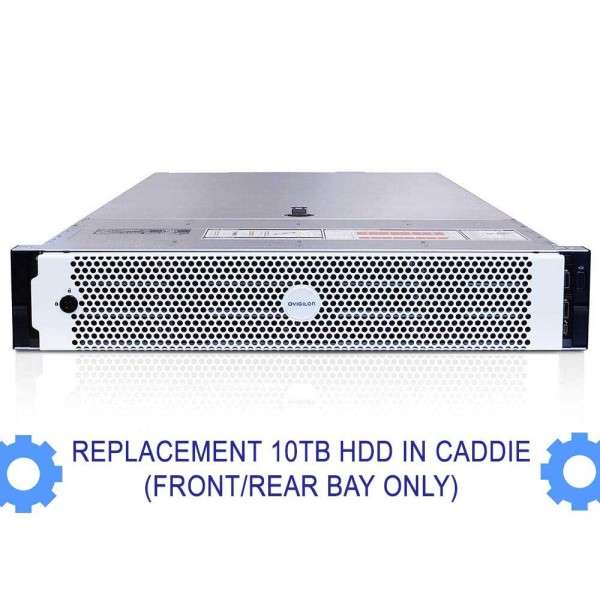 REPLACEMENT 10TB HDD IN CADDIE (FRONT/REAR BAY ONLY) - NVR4-PRM-157