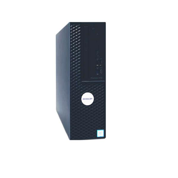 HD NVR4 WORKSTATION 4TB, DESKTOP, 120MBPS, 4K X 2 DISPLAYS, OS SSD 256GB
