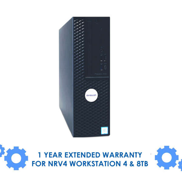 1 YEAR EXTENDED WARRANTY FOR NRV4 WORKSTATION 4 & 8TB