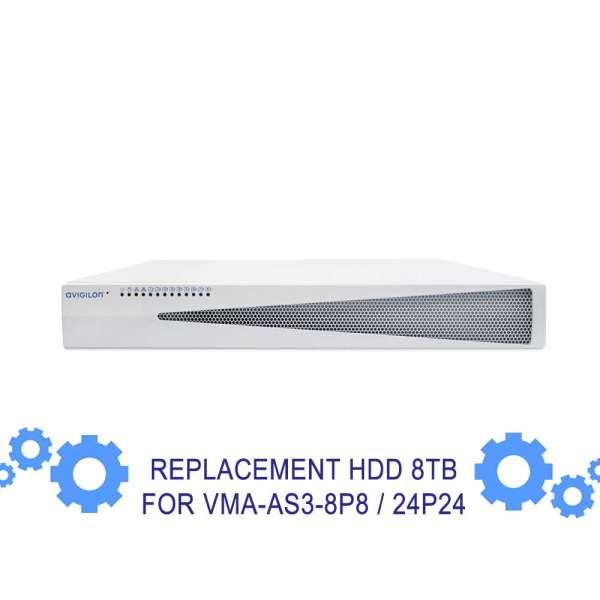 DISQUE DUR 8TB DE REMPLACEMENT POUR NRAVIS0808 ET NRAVIS2424