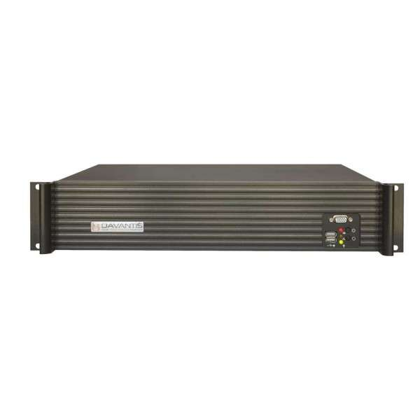 SERVEUR VIDEO ANALYTIQUE HYBRIDE IP ANALOG THERMAL, STANDARD, 2CH, 8IN