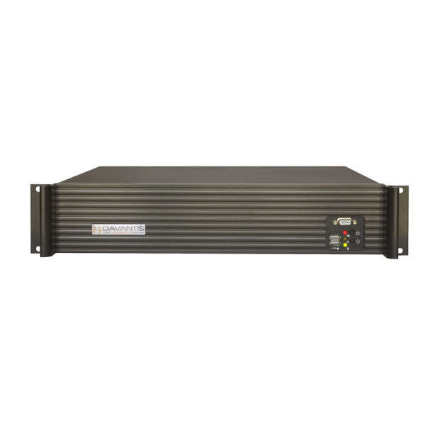 SERVEUR VIDEO ANALYTIQUE HYBRIDE IP ANALOG THERMAL, STANDARD, 11CH, 8IN
