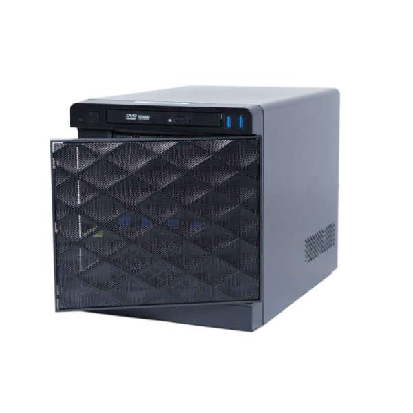 HD NVR-SE QUBE WORKSTATION 4TB+SSD OS,150MBPS, DUAL 1GBE, 2 X HD MONITOR