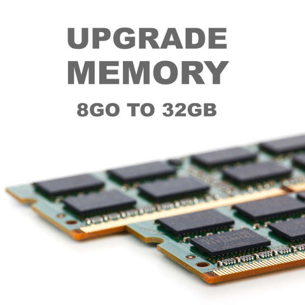 UPGRADE M SERIES SERVERS FROM 8GB TO 32GB