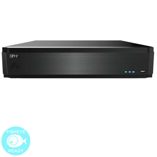 NVR IP 32CH+AUDIO, 8MP @ 25FPS, ONVIF, HDD 3TB (8 SATA), HDMI 4K
