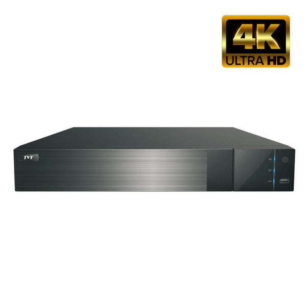 NVR IP 32CH +AUDIO, 8MP@25FPS, ONVIF, 4 SATA, NO HDD, HDMI 4K