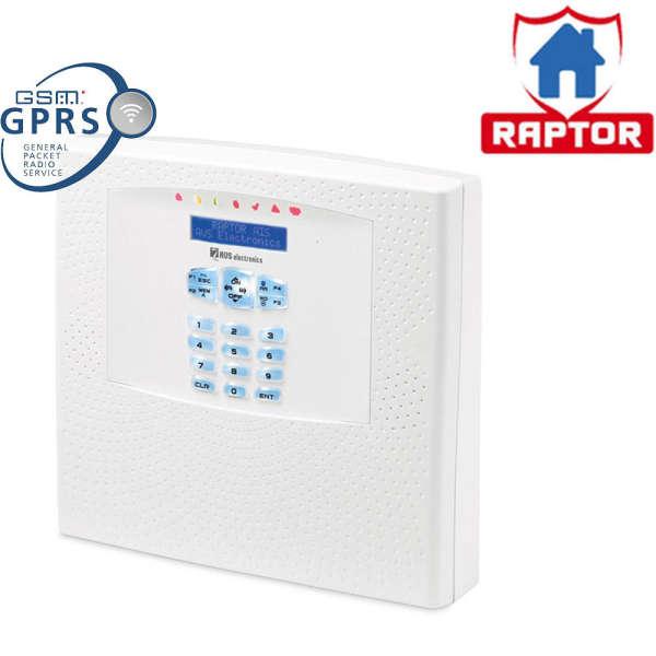 RAPTOR 125 ZONES WL, KP-IN, GSM-IN, SIREN-IN, 220VAC