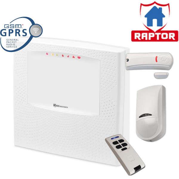 RAPTOR-R FR 125 ZONES WL, GSM-GPRS IN, +JET PAWS4 +WIC4 +BIP4, 220VAC