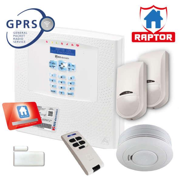 RAPTOR-RK NL, KP-IN, GSM-IN +2 JET PA +WIC4MINI +SD4 +BIP4+, 220VAC
