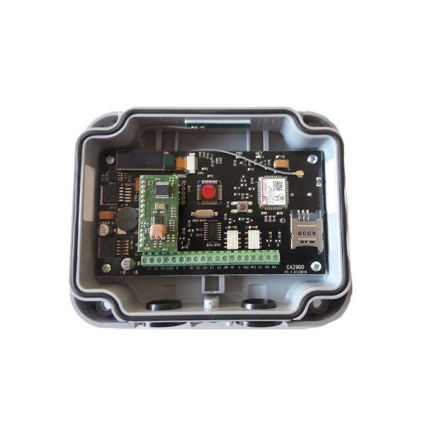 RECEPTEUR S504 FM, 433 MHZ, GSM 2G, 1000 USERS +SIM 10 ANS