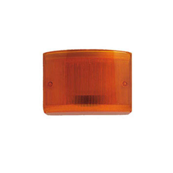 PLEXI ORANGE POUR TS85 ET CITY