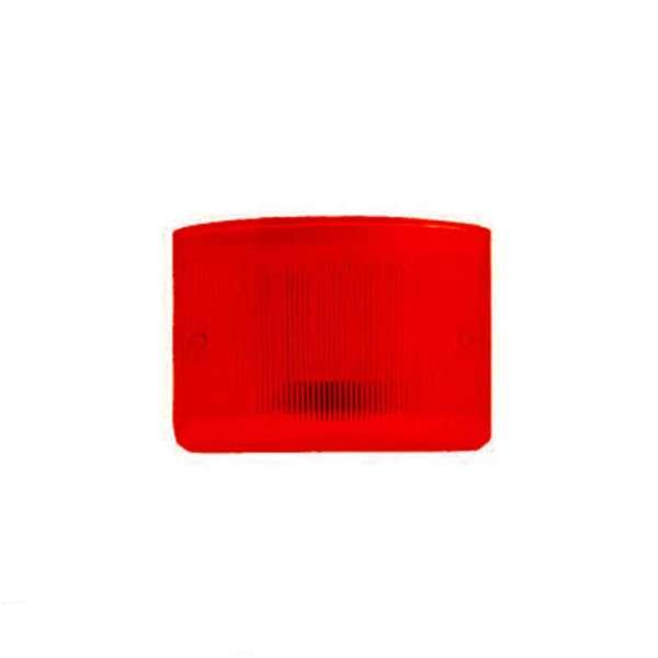 PLEXI ROUGE POUR TS85 LED+ ET CITY LED+