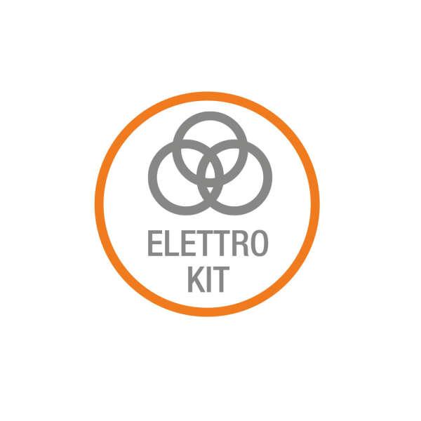 K-ELEC2 KIT ACCESSOIRES, CDR999,LPXLAMP, ANT 433MHZ, SELECTEUR A CLEF