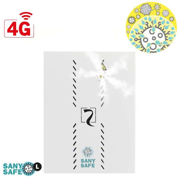 ASSAINISSEUR 300M³, GSM-GPRS-4G, SIM 2ANS, BOX BLANC 358 X 264 X 166