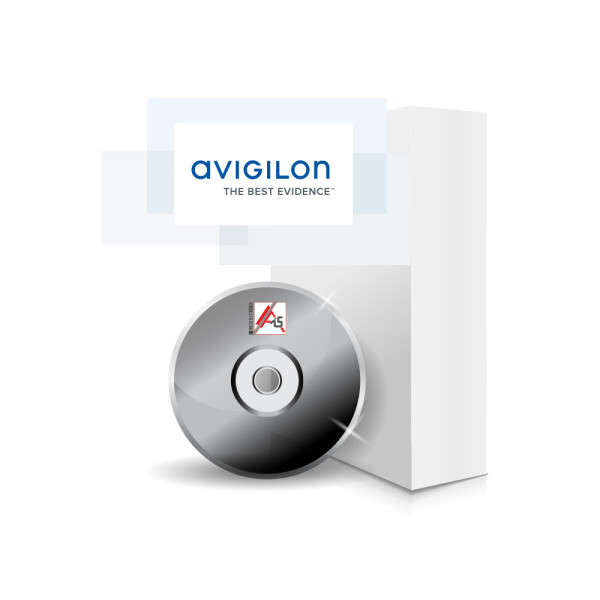 SOFTWARE V6 AVIGILON STANDARD 4 CAM / 10 VIEWER INCL.