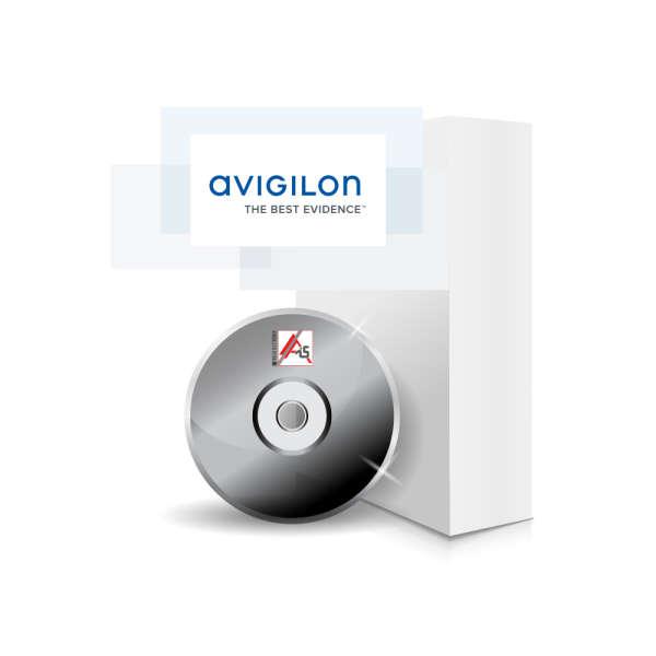 SOFTWARE V6 AVIGILON STANDARD 8 CAM / 10 VIEWER INCL.
