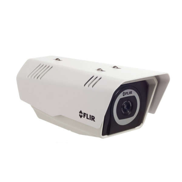 CAMERA THERMIQUE IP/ANALOGUE, 24°, POE CL3 12VDC