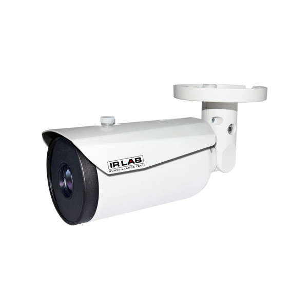 CAMERA THERMIQUE IP/ANALOGUE 384X288 PIXELS 28°, ALARME E/S, ONVIF,POE