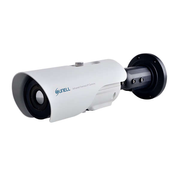 CAMERA THERMIQUE IP/ANALOGUE 396X264 PIXELS 15°, ALARME E/S, ONVIF,POE