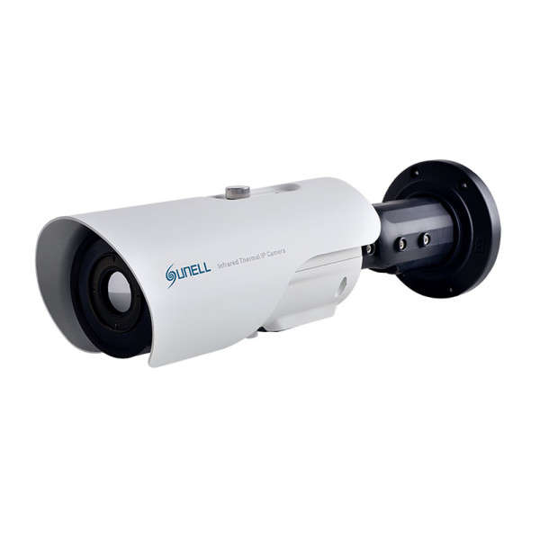 CAMERA THERMIQUE IP/ANALOGUE 396X264 PIXELS 11°, ALARME E/S, ONVIF,POE