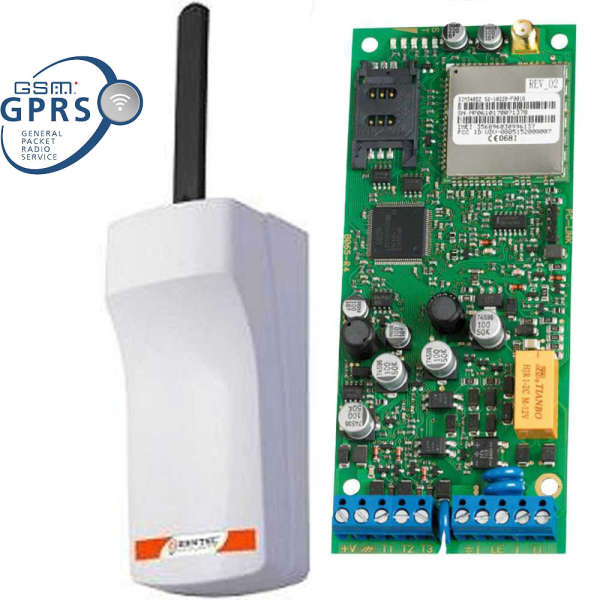 INTERF.GSM GPRS+BOX 12-24V, SUP.LIGNE, 3IN-OUT, 100N°, VOCAL 8 MSG, SMS