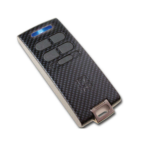 KEYFOB WL BIDIRECT. +STATUS, 5 BOUTONS, 8 FONCTIONS, CARBON, 868MHZ