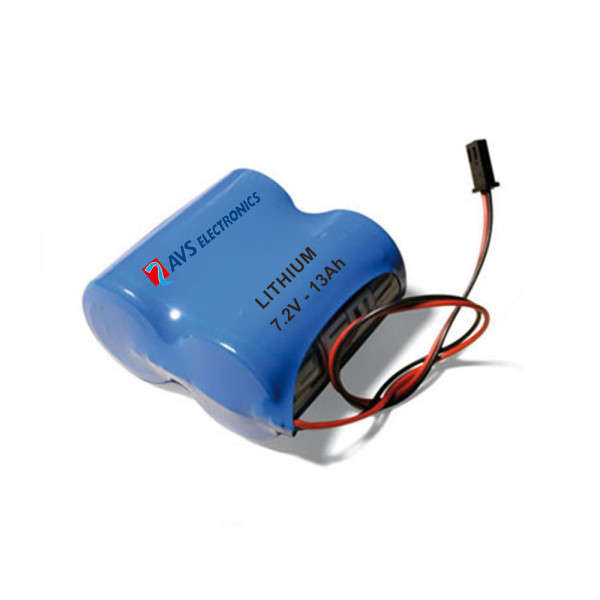 BATTERIE LITHIUM POUR SIRENE WIRELESS CITY WS, 7.2V 13AH