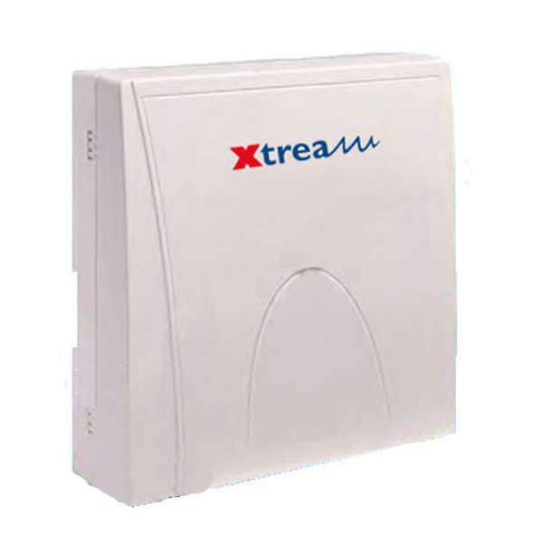 XTREAM 6-10 ZONES, 8 OUT, 8 GRP, 64 CODES, TR. DIG. BOX ABS, PSU 1.7A