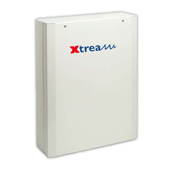 XTREAM 6-10 ZONES,8 OUT,8 GRP,64 CODES,BOX METAL, PSU 3.4A