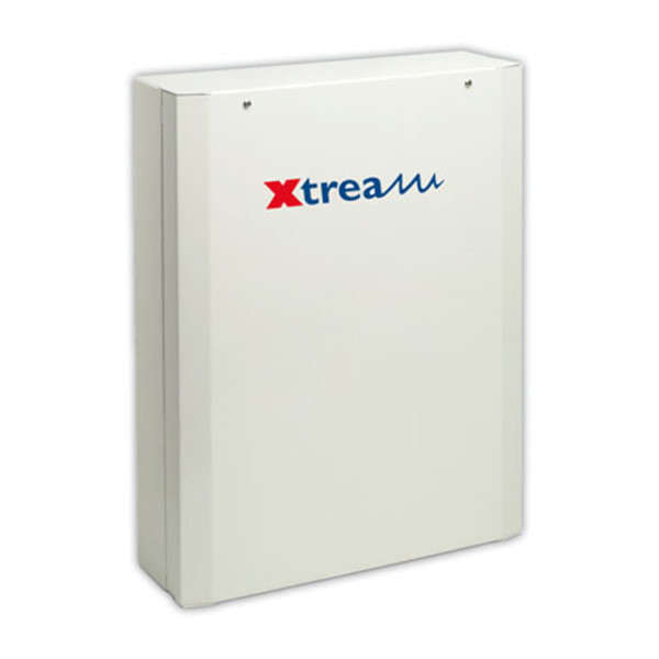 XTREAM 10-640 IN,8-250 OUT,64 GRP,512 CODES,TR. DIG+VOCAL,PSU 3.4A, FR