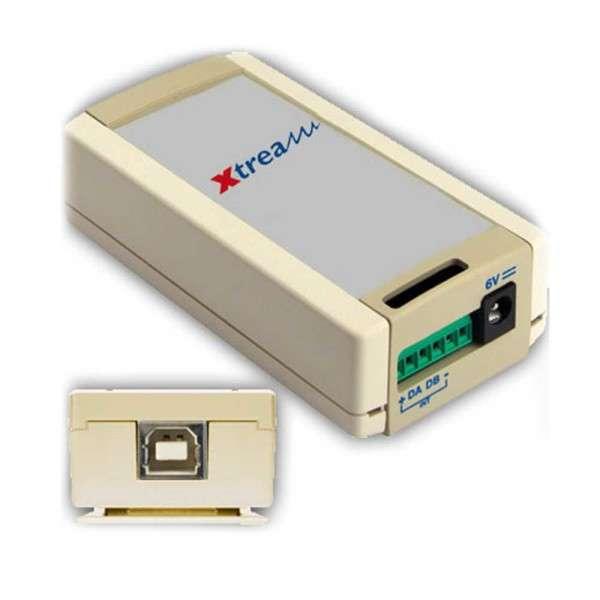 INTERFACE DE COMMUNICATION VIA USB POUR DOMOTIQUE AVEC XTREAM