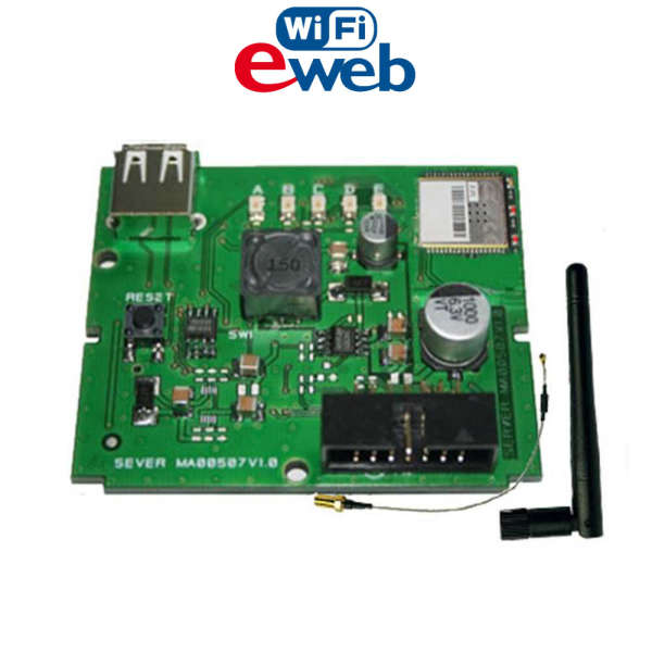 MODULE WEBSERVER WIFI, TRANSM. +U/D +MAIL +APP +PUSH, XTREAM & CAPTURE