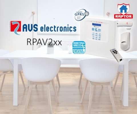 RAPTOR-RK FR 125ZONES WL, KP-IN, GSM-IN, +JET PAWS4 +WIC4 +BIP4, 220VAC