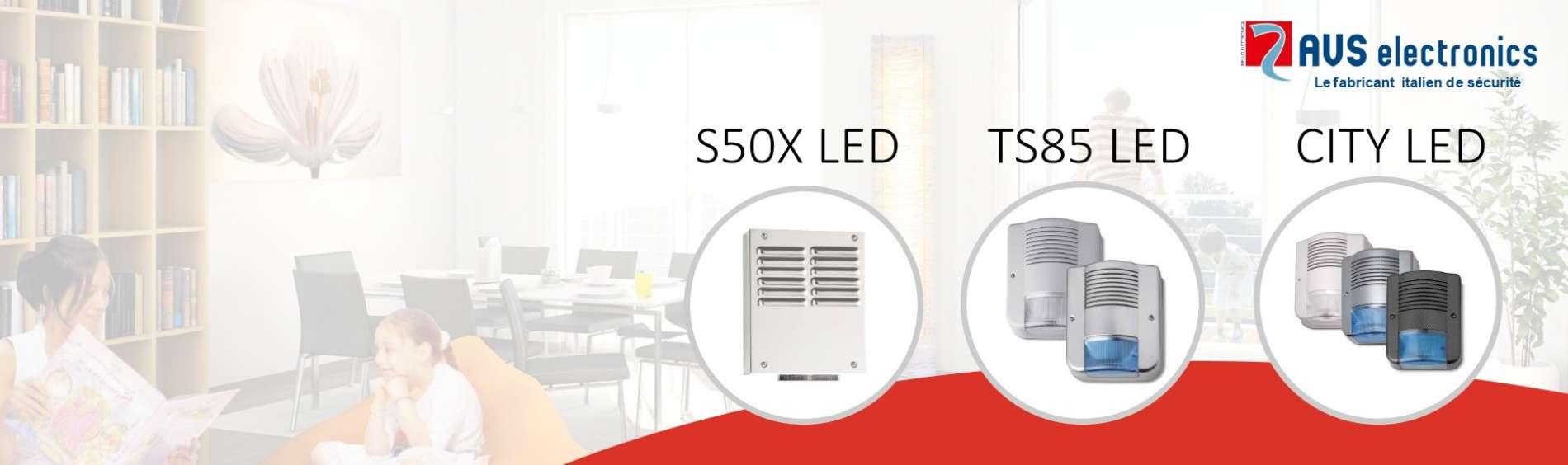 AVS Electronics <br> Découvrez nos nouvelles sirènes, Alliance de qualités et de design.