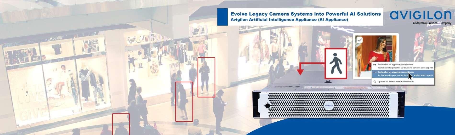 Dispositif AI Appliance d'Avigilon